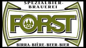 Il logo del ristorante birreria Forsterbrau di Trento, testimonial myfood