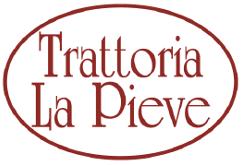 Il logo della Trattoria la Pieve di Piacenza, testimonial myfood