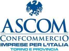 Il logo di Ascom Confcommercio Torino e provincia, partner myfood per allergeni e menù online